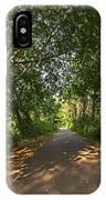 Cape Cod Rail Trail Trees Eastham Ma IPhone Case