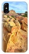 Capitol Reef Boulder Art IPhone Case