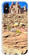 Capitol Reef Castle IPhone Case