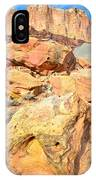Capitol Reef Rock Fall IPhone Case
