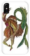 Capricorn IPhone Case by Barbara McConoughey