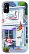 Capt. Dusty's Ice Cream IPhone Case