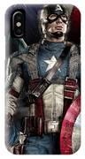 Captain America - America IPhone Case