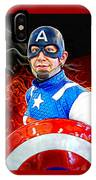 Captain America Super Hero IPhone Case