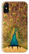Captain Peacock IPhone Case