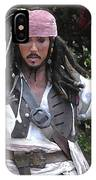 Captain Sparrow IPhone Case
