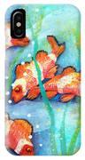 Captivating Clown Fish IPhone Case