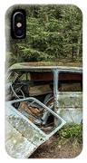 Car Graveyard In Smaland IPhone Case