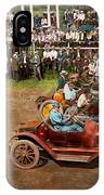 Car - Race - On The Edge Of Their Seats 1915 IPhone Case