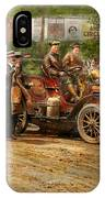 Car - Race - The End Of A Long Journey 1906 IPhone Case
