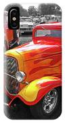 Car Show Fever - 54 Chevy With A 32 Ford Coupe Hot Rod IPhone Case