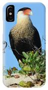 Caracara Portrait IPhone Case