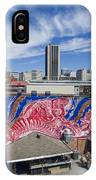 Caratoes Richmond Mural Project IPhone Case