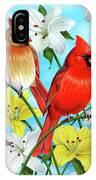 Cardinal Day IPhone Case