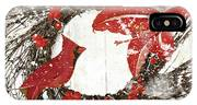 Cardinal Holiday I IPhone X Case