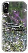 Cardinal In Flowering Tree IPhone Case
