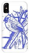 Cardinal Painted IPhone Case