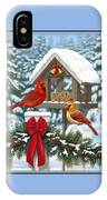 Cardinals Christmas Feast IPhone X Case
