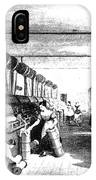 Carding Engine And Drawing Frame, 1835 IPhone Case
