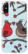Cardnials In Love IPhone Case
