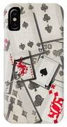 Cards Abstract IPhone Case