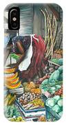 Caribbean Market Day IPhone Case