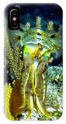 Caribbean Squid At Night - Alien Of The Deep IPhone Case