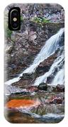 Caribou Falls Cascade IPhone Case