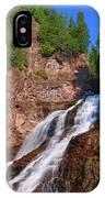 Caribou Falls IPhone Case