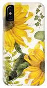Carina Sunflowers IPhone Case