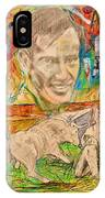 Carlos Arruza IPhone Case