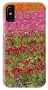 Carlsbad Flower Fields IPhone Case