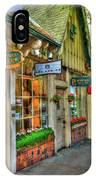 Carmel, Ca. The Shops Of Ocean Ave. IPhone Case
