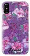 Carnation Inspired Art IPhone Case