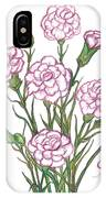 Carnation Pink IPhone Case
