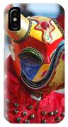 Carnival Red Duck Portrait IPhone Case
