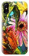 Carnivale Flori IPhone Case