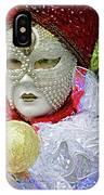 Carnivale Mask #10 IPhone Case