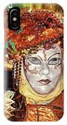 Carnivale Mask #12 IPhone Case