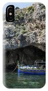 Caroline Cave And Maltese Traditional Boat IPhone Case