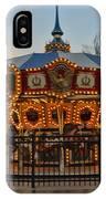 Carousel At Dusk IPhone Case