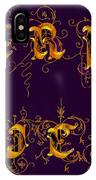 Carpediem Redgold IPhone Case