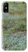 Carpet Of Blue IPhone Case