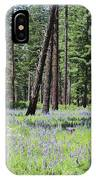 Carpet Of Lupine In Washington Forest IPhone Case