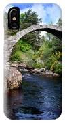 Carr Bridge Scotland IPhone X Case
