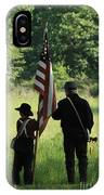 Carrier Of The Flag IPhone Case