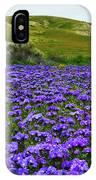 Carrizo Plain National Monument Wildflowers IPhone Case
