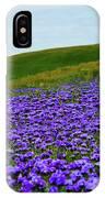 Carrizo Plain Phacelia IPhone Case