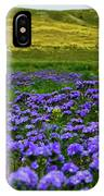 Carrizo Plain Wildflowers IPhone Case