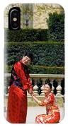Carrousel Wedding IPhone Case